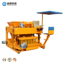 Construction movable hollow block brick making machine philippines
