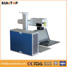 Máquina de marcado láser de color de acero inoxidable / máquina de marcado de color de 20W láser