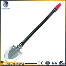 custom cold full size folding solid steel shovel
