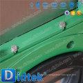 Accionador neumático de alta calidad de Didtek Tipo de oblea asentado resiliente Cero Válvula de compuerta
