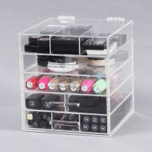 Affordable Bathroom Clear Acrylic Makeup Storage