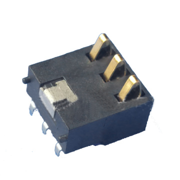 Connecteur de batterie à 3 circuits de 2,5 mm