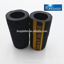 schwarze Farbe Sandstrahlen Gummischlauch Gummirohr Sandstrahlschlauch