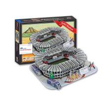 Quente 246 PCS Mexico Aztec Stadium Toy 3D Puzzle Game (10161652)