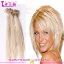 2015 hot Verkauf #613 weiß Clip im Haar Europäische Clip in Haarverlängerung