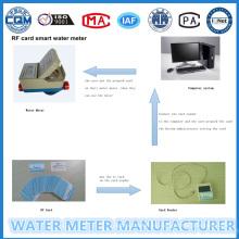 Medidor de flujo de agua prepagado de tarifas escalonadas (LXSIC-20)