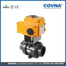 Tratamiento de agua industrial válvula de bola eléctrica de pvc