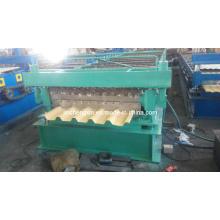 Máquina formadora de tejas de colores