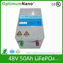 Batería solar de litio 48V 50ah