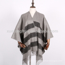 100% cashmere cape for women