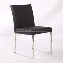 Chaise de salle à manger moderne sans bras Pinkman