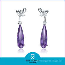 Elegant 925 Sterling Silver Earring with Factory Price (E-0132)