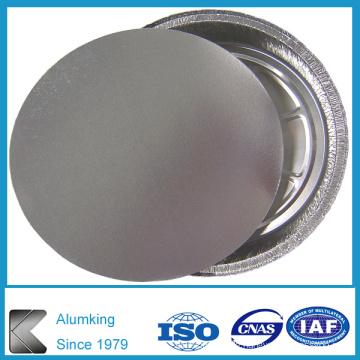 Aluminiumfolienbehälter mit Papierdeckel