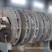 Jp Horizontal Balancing Machine for Exhaust Fan, Draught Fan (PHW-2000)