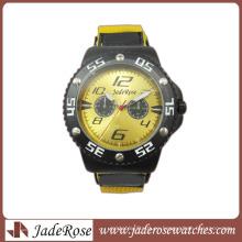Reloj de pulsera de cuero resistente al agua para hombre Reloj de pulsera de diseño 2014