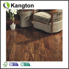 Revestimento de madeira maciça natural de folha grande Acacia (piso de madeira maciça)