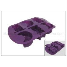 Helloween animal em forma de molde de cozimento de silicone (RS08)