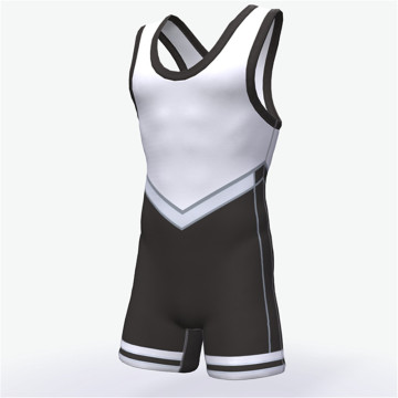 Customized sublimation printing mens gulat singlet