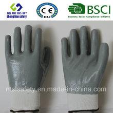 Totalmente nitrilo guantes de trabajo revestidos (SL-N120)