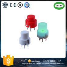 Interruptor táctil de silicona con estructura de interruptor redondo de 8 mm (FBELE)