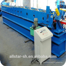 meio frio calha redonda rolo formando máquina/shanghai allstar calha metálica fria Máquina Perfiladeira