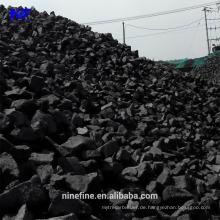 High Carbon Hohe Festigkeit von Gießereikoks mit geringer Feuchtigkeit