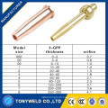 GPP Victor Type acetylene oxygen cutting torch nozzle