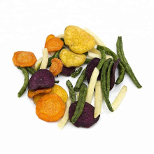 Vacuum fried mixed vegetable chips,snack foods
