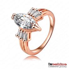 Anillo de boda de piedras preciosas para las mujeres (RIC0001-A)