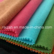 Двойная ткань флиса CVC Plus Толстая бархатная ткань флисовой ткани свитера
