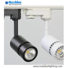 Interior 6W LED Track iluminação para substituir 50W lâmpada de halogéneo