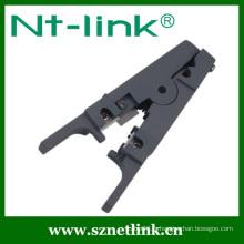 Décapant et coupeur universel pour conducteur de câble UTP / STP
