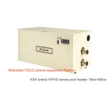 Electric Swimming Pool Heater , Energy Saving 380v 40kw Spa Heaters