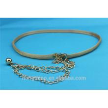 2014 new ladies dress wais fancy chain belt