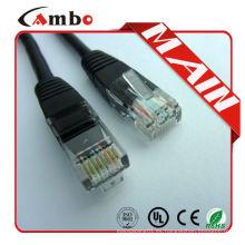Hecho en China 10m cable de remiendo cat6 utp Todos Longitudes Colores