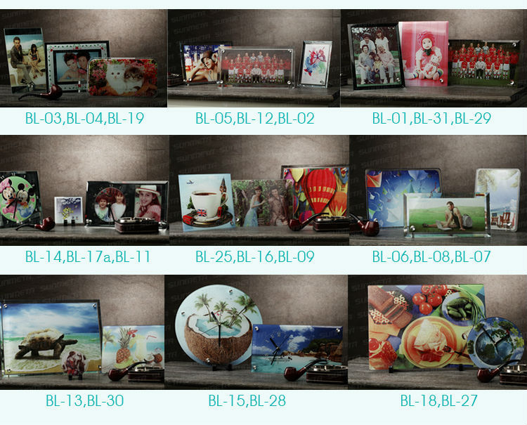FREESUB Heat Press Pictures Printed On Glass 180*230*10