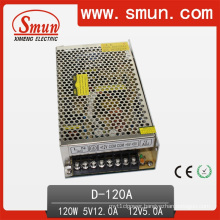 120W Dual Output Switching Power Supply 5V 12V (D-120A 5V12V)