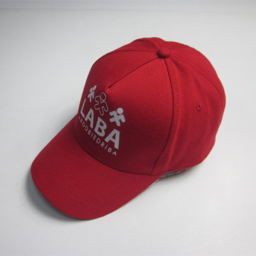 5 Panel Silk Screen Print Sports Cap