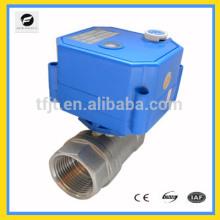 """Válvula electrónica de cierre de 1/2 """"CWX 2 vías SS304 para sistema de agua caliente"""