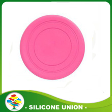 Hot Sale soft toys silicone pet frisbee
