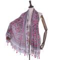 Fabrication commerce extérieur en gros impression voile écharpe yiwu pour les femmes