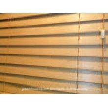 Cortina de madeira de Faux de 50mm (cortina venetian do PVC)
