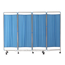 Folding Four Sections Hospital Screen