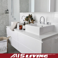Parede de Laquer branco Hung armários de banheiro para casa (AIS-B021)