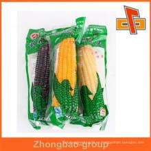 China fabricante sello de calor bolsa de nylon bolsa de vacío de embalaje para el maíz