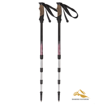 China for Alpenstock Hiking Poles Light weight 55-125CM Folding Alpenstocks export to Puerto Rico Suppliers
