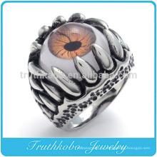 ТКБ-R0054 оптовые Дракон Коготь из нержавеющей стали дурной глаз кольцо