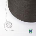 Polyester Yarn DTY 150D/144F , semi dull, dope dyed black Microfiber yarn