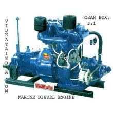 CLUTCH TYPE DIESEL ENGINE
