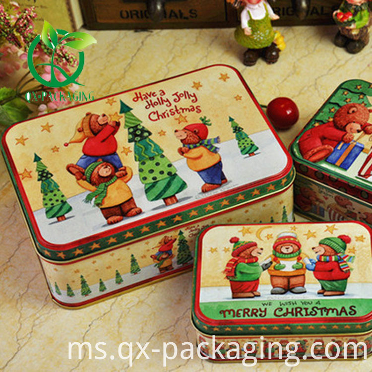 Christmas cookie tins